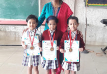 Winners Of Kala Children Acdemy(Draw & Paint)-Sr.KG