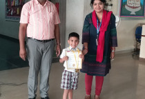 Winners Of IQ Contest(Jr.KG_Ist Shift)