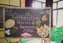 Lesson On Healthy & Unhealthy Food