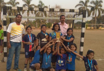 District Level Handball Tournament  Organised By Amateur Handball Association,Raigad On 19.02.18