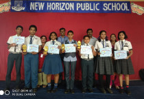 Winners Of Inter School Science Project Competition At Dr. Pillai's Global Science Gala Festival 201