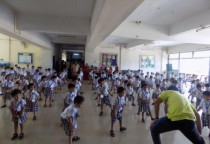 Taekwondo Activity(Jr.KG)