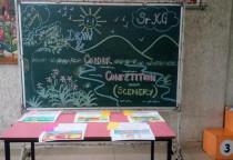 Draw & Colour Competition-Sr.KG