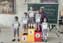 Handwriting Competition(Jr.KG)