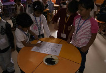 B/W Spray Painting Activity(Jr.KG)