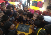 Black Colour Day(Magic Painting)-Nursery