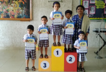 Winners Of Colouring Competition-Nursery