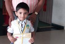 Winners Of IQ Contest(Sr.KG_II Shift)