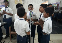 Hindi Rhythemic Competition(Sr.KG)