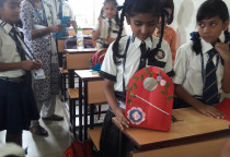 Paper Bag Making Competition (Grade IV)
