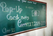 Pop-up Card Making Competition-(Grade VIII)