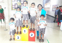 Prize Distribution-Draw &Color Competition(Sr. KG)