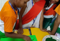 Tricolour Day & Circle Printing-Sr.KG