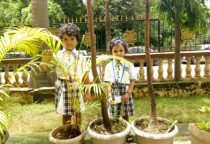 Visit To The School Garden(Jr. KG)