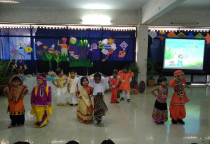 Spl.Assembly On Makara Sankranti (Nursery)