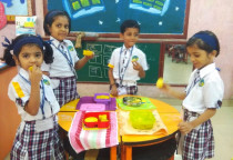 Smart Lunch Box(Dhokla_Khandvi)-Jr. KG