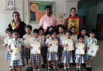 Winners Of IQ Contest(Nursery_ II Shift)