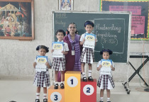Winners Of Kala Children Acdemy(Handwritten)-Jr.KG