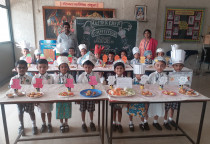 Smart Chef(Biscuit Sandwitch Competition)-Jr.KG(Ist Shift)