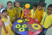 Yellow Day Celebration(Jr.KG)