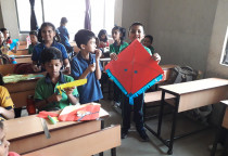 Kite Making Competition(Grade III)