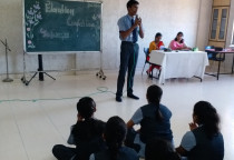 Elocution Competition(Grade XI & XII)