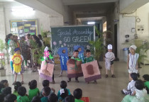 Spl.Assembly On Go Green(Pre-Primary)