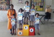 Prize Distribution Of Singing Competition(Nature)-Sr.KG