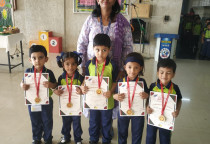 Winners Of Kala Children Acdemy(Draw &Colour)-Nursery