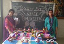 Coconut Shell Craft(Sr.KG)