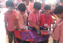 Pink Day(Pet Paw Printing Activity)-Sr. KG