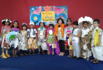 Winners Of Fashion Show Competition(Sr.KG)