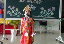 Fancy Dress Competition(Mythology)-Jr.KG(II Nd Shift)