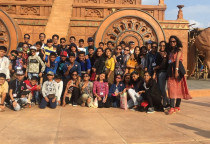 Educational Tour To Hyderabad(Grade VI To VIII)