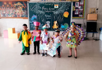 Winners Of Fancy Dress Competition(Nursery)