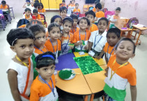 Tricolour Activity(Jr.KG)