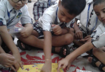 Dandiya Making Activity(Sr.KG)