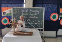Gandhi Jayanti Spl Assembly(Pre-Primary)