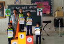 Winners Of  Collage Making Competition(Nursery)