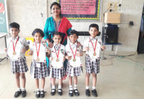 Winners Of Kala Children Acdemy(Colouring)-Sr.KG