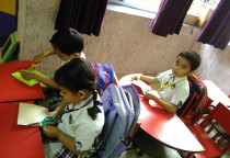 Paper Cutting Activity(Jr.KG)