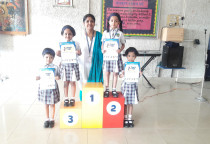 Winners Of Handwriting Competition(Sr.KG)