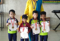Winners Of Kala Children Academy(Draw & Colour)-Nursery