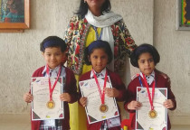 Winners Of Kala Children Acdemy(Drawing)-Jr.KG