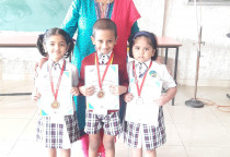 Winners Of Kala Children Acdemy(Handwritten)-Sr.KG