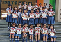 Winners Of Kala Children Academy,Art Competition