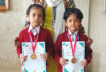 Winners Of Kala Children Acdemy(Draw & Paint)-Jr.KG