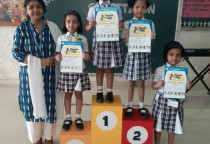 Winners Of Rhythemic Story Telling Competition(Sr. KG)