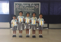 Winners Of IQ Conquest (Jr. KG)- Ist Shift