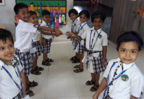 Rakshabadhan Celebration (Jr.KG)